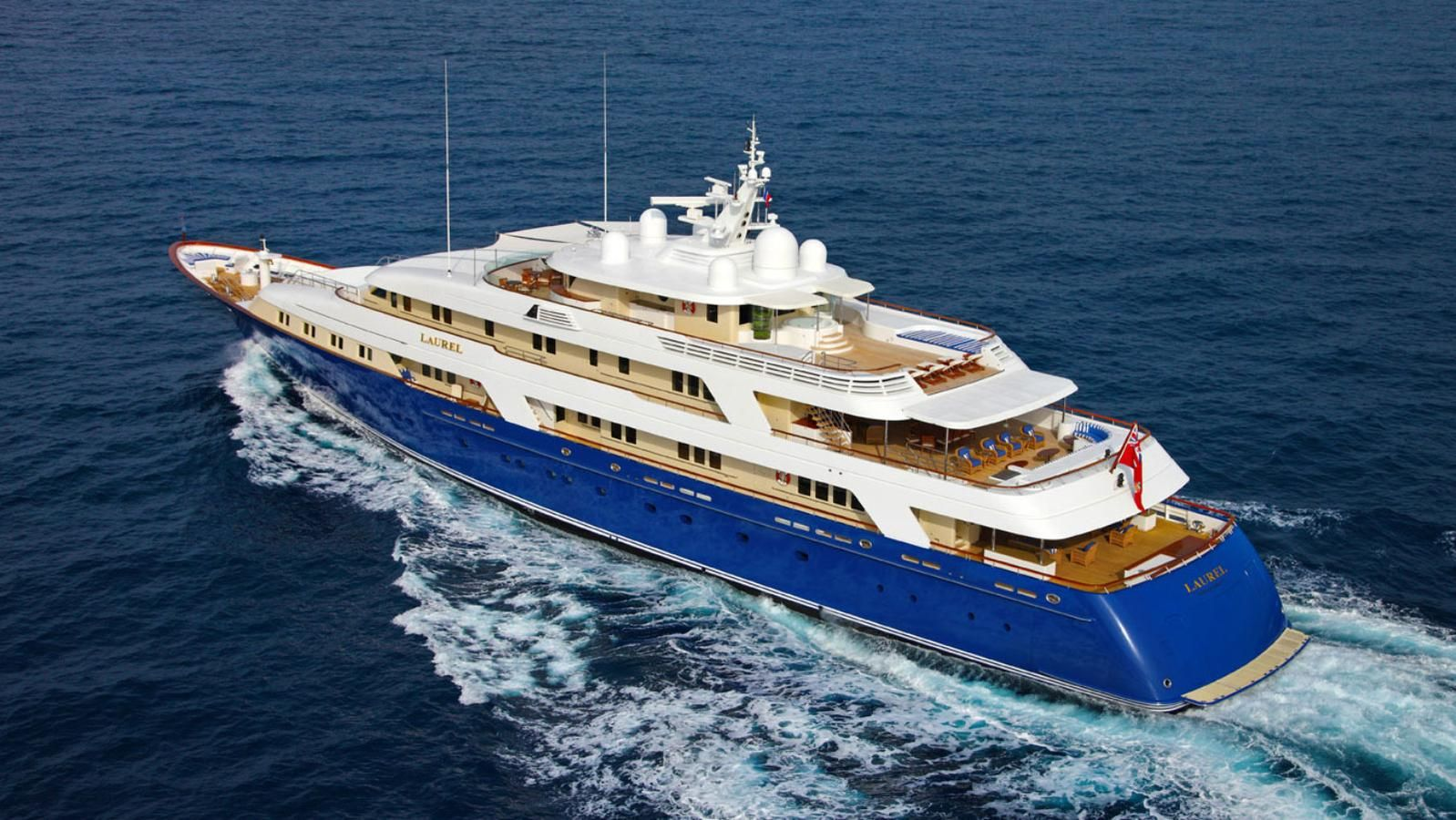 how much to charter a yacht below deck