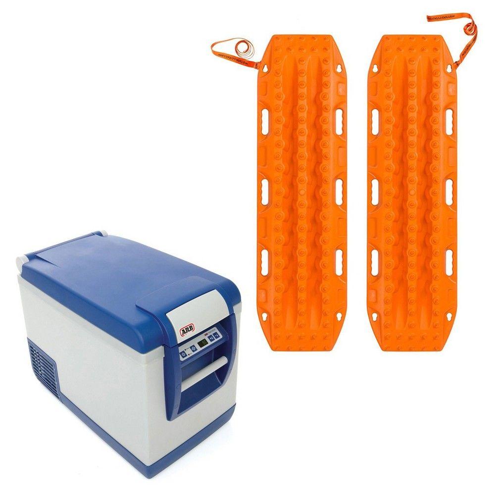 Arb Portable 50 Qt  Car Travel Fridge Freezer & Maxtrax