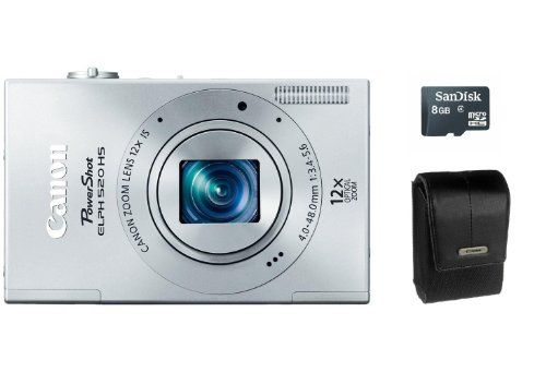 Canon Powershot Elph 520 Hs 10 1 Mp Digital Camera 12x Optical Image Stabilized Zoom 28mm Wide Angle Lens And Canon Powershot Elph Powershot Digital Camera