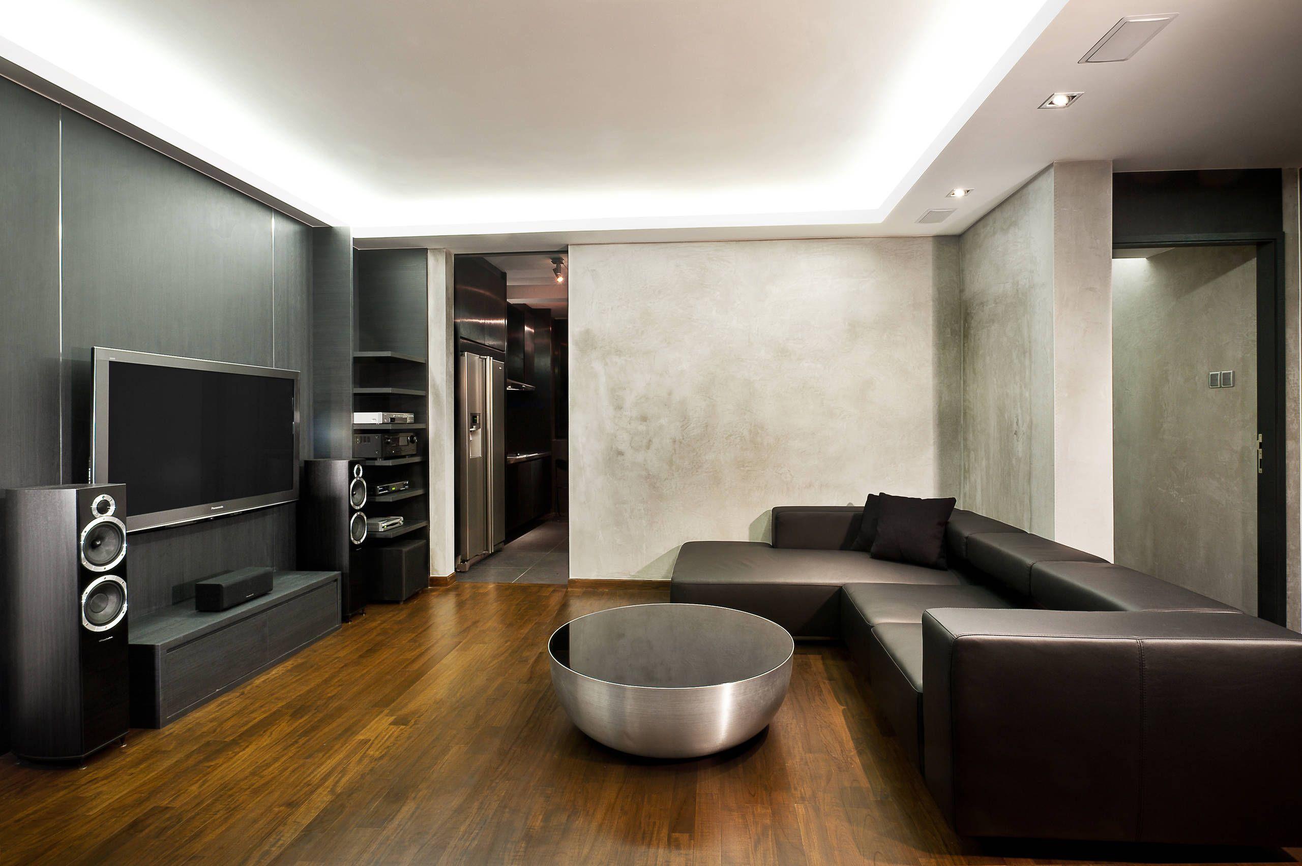 Tv Media Room Cove Lighting Google Search Masculine Interior Design Minimalist House Design Interior Design