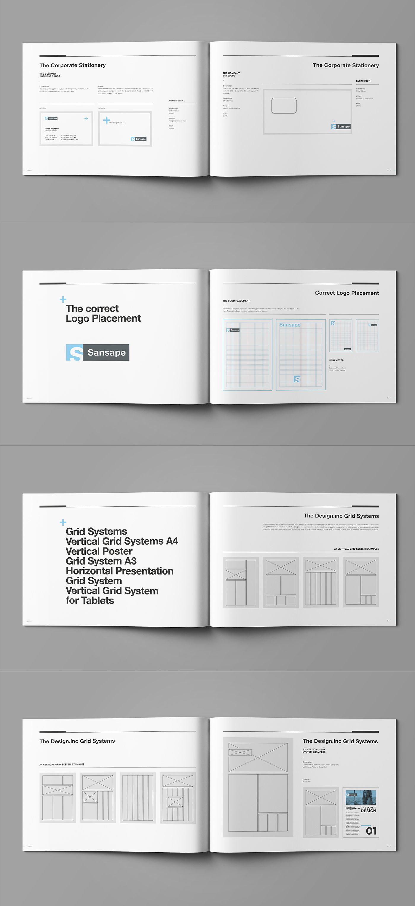 Brand Manual and Identity Template – Corporate Design Brochure ...