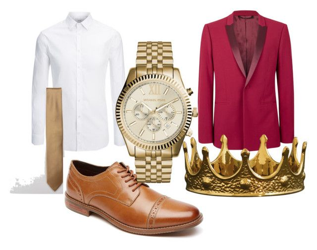 """Homecoming King"" by unknown12132 ❤ liked on Polyvore featuring Joseph, ASOS, Rockport, Topman, Michael Kors, Seletti, men's fashion and menswear"