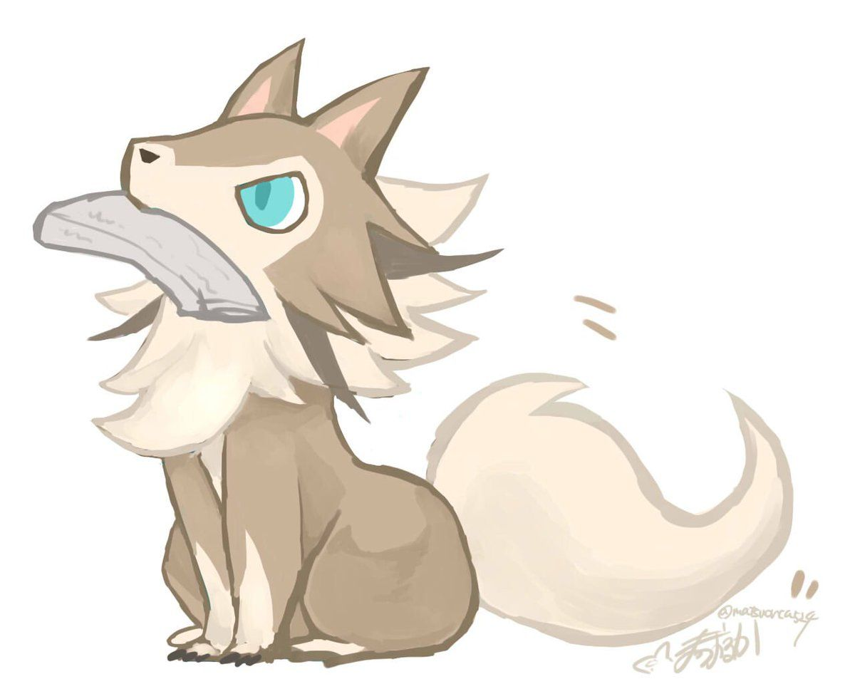 Extremely Cute Lycanroc