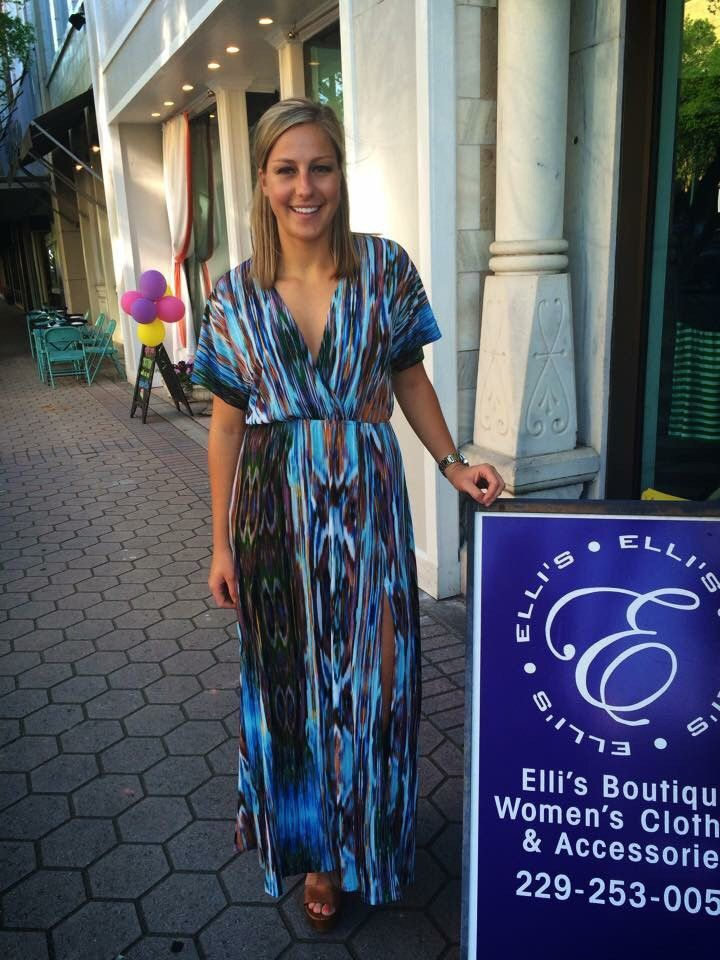 Blue Sky Maxi Dress