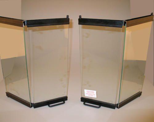 """FMI 36"""" Deluxe Aluminum Bi Fold Glass Doors at Menards"""