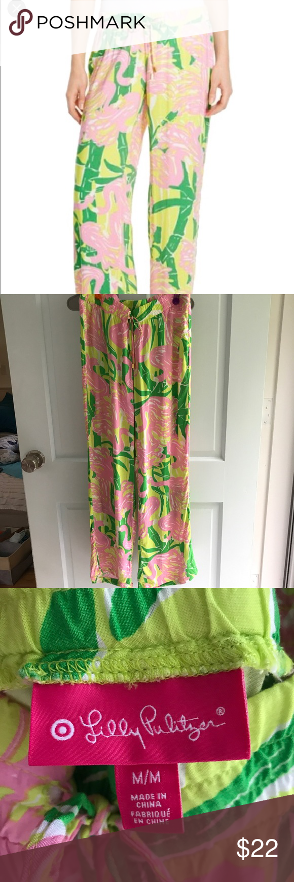 e0327b7aed4d5 Lilly Pulitzer for Target Pants Super comfortable hardly worn (no more than  3x) Lilly