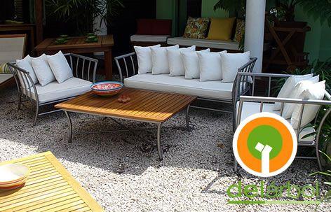 Muebles de Hierro para Exterior Línea Grees | del-arbol.com.ar ...