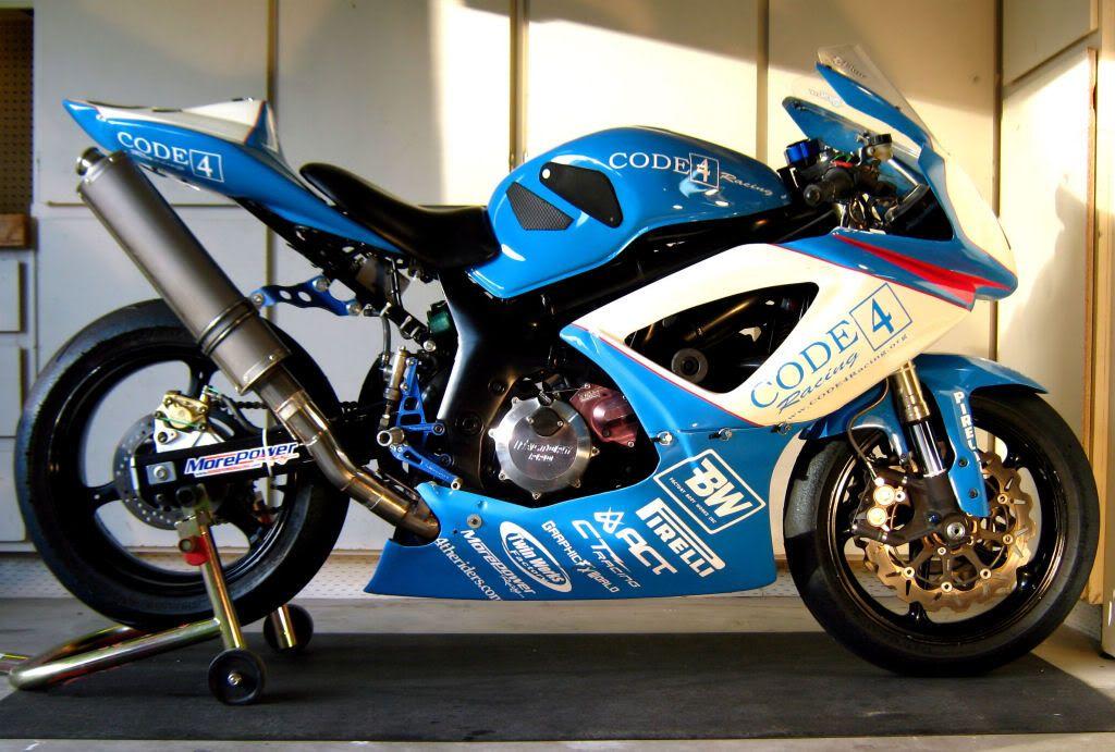 SOLD** SV650 Code 4 race bike - BARF - Bay Area Riders Forum | Cool ...