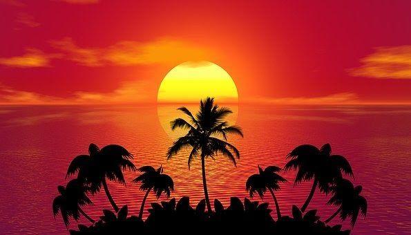 Paling Populer 30 Gambar Pemandangan Pantai Lukisan Senja Simple 60 000 Gambar Sunset Matahari Terbenam Gra Sunset Pictures Sunset Images Summer Sunset Beach