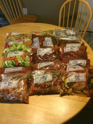 Faith, Grace & Giggles: Freezer Meal Momma - 16 freezer meals, 2 hours prep, dinner tamed for 2 weeks! $3 or less per serving!