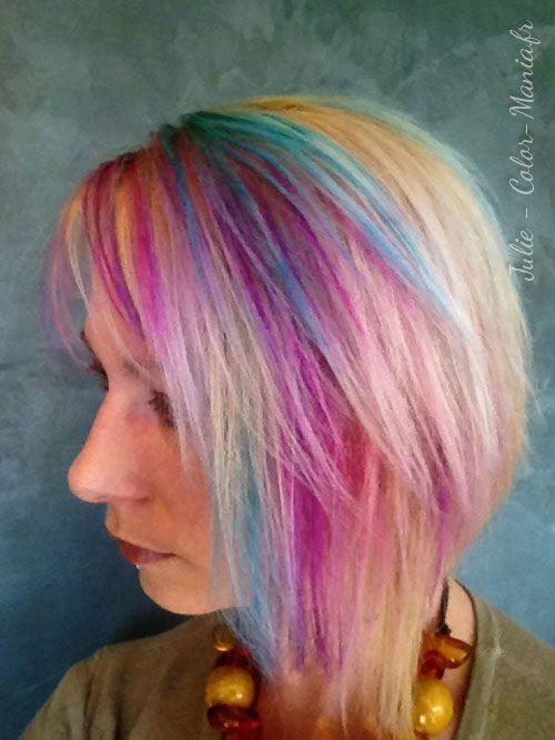 Coloration cheveux fuchsia