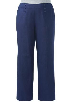 8d54766b473aed #CATOSUMMERSTYLE Cato Fashions Three Button Wide Leg Sailor Pants – Plus  #CatoFashions