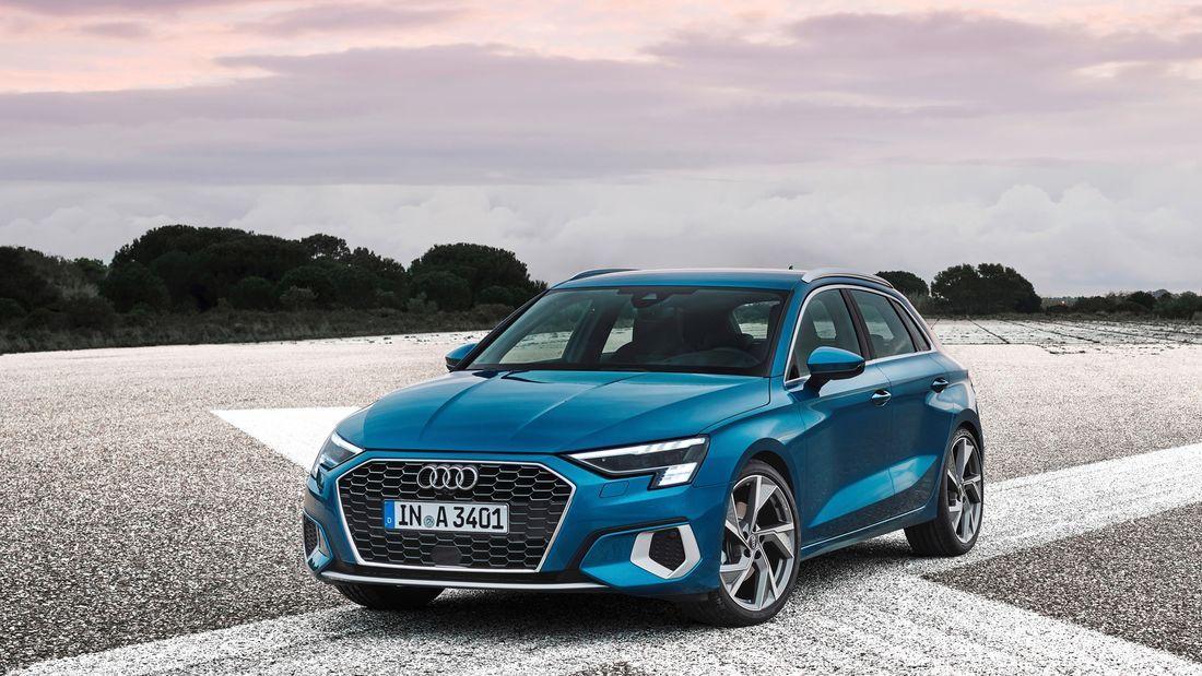 Audi A3 Sportback 2020 Weltpremiere Der Kompakte Ingolstadter Wird Volldigital In 2020 Audi A3 Sportback Audi A3 Audi