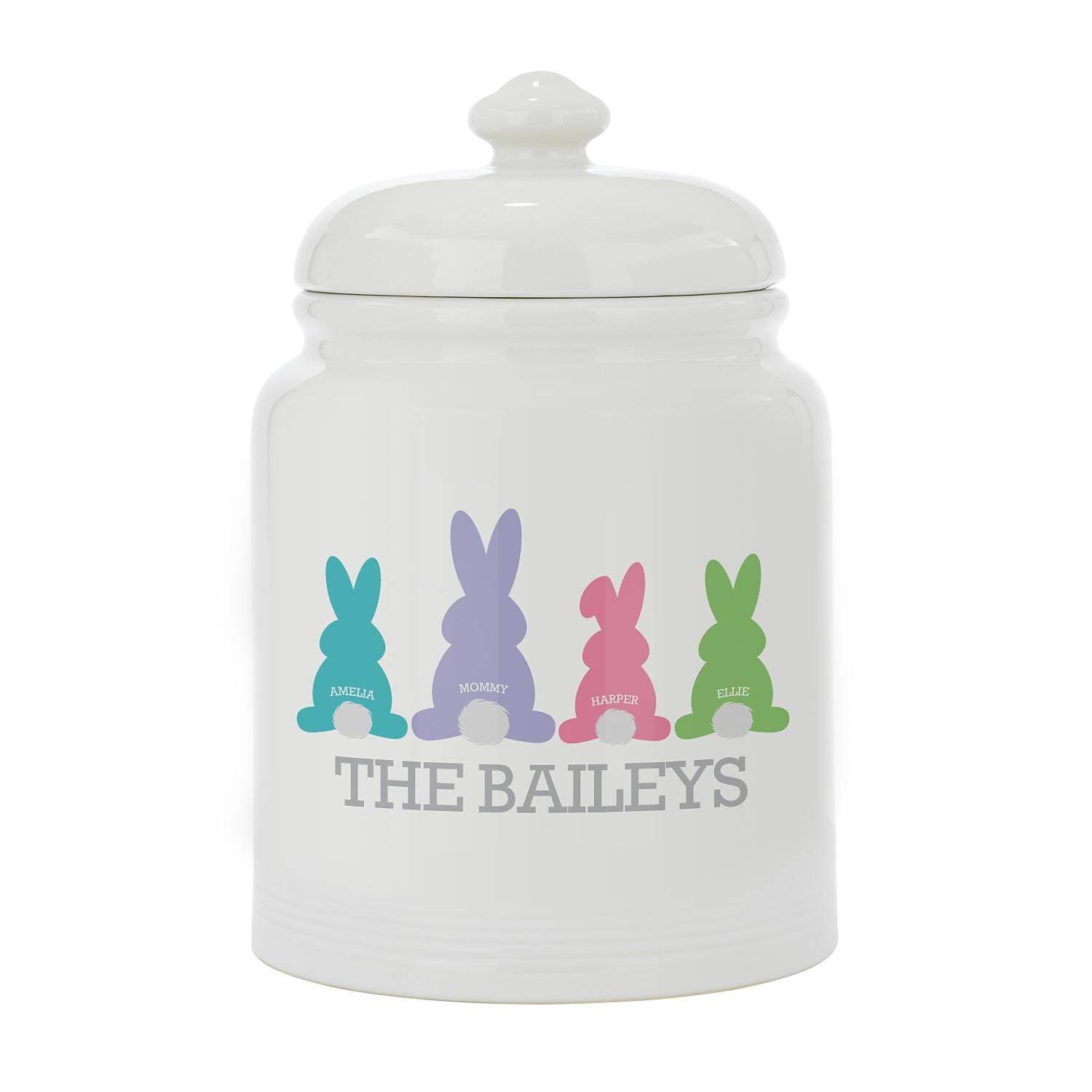 920791b61c Personalized Every Bunny Wlcome Treat Jar-Sngl Parent 1-4 Kids - Personal  Creations Gifts
