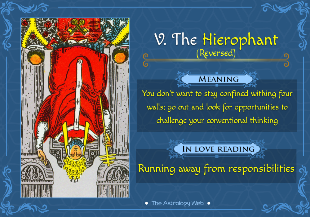 The Hierophant Tarot The Astrology Web The Astrology Web The Hierophant Tarot Meanings Tarot