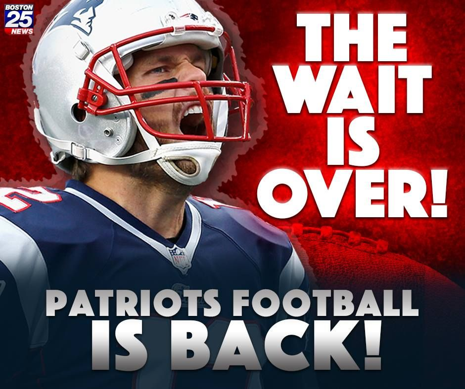 New England Patriots Football Is Back The First Preseason Game Of The Year Kicks Off Patriots Football New England Patriots Football New England Patriots Game