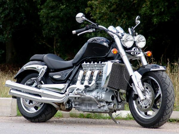 Top 10 Big Displacement Motorcycles Triumph Rocket Motorcycle Triumph