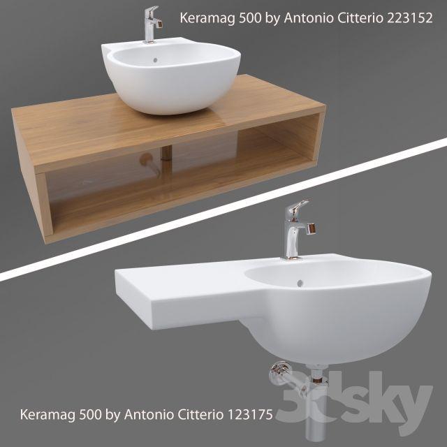 Keramag 500 By Antonio Citterio Antonio Citterio Wash Basin Basin