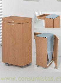 Tabla armario plegable para plancha consumistas - Mueble tabla planchar ...