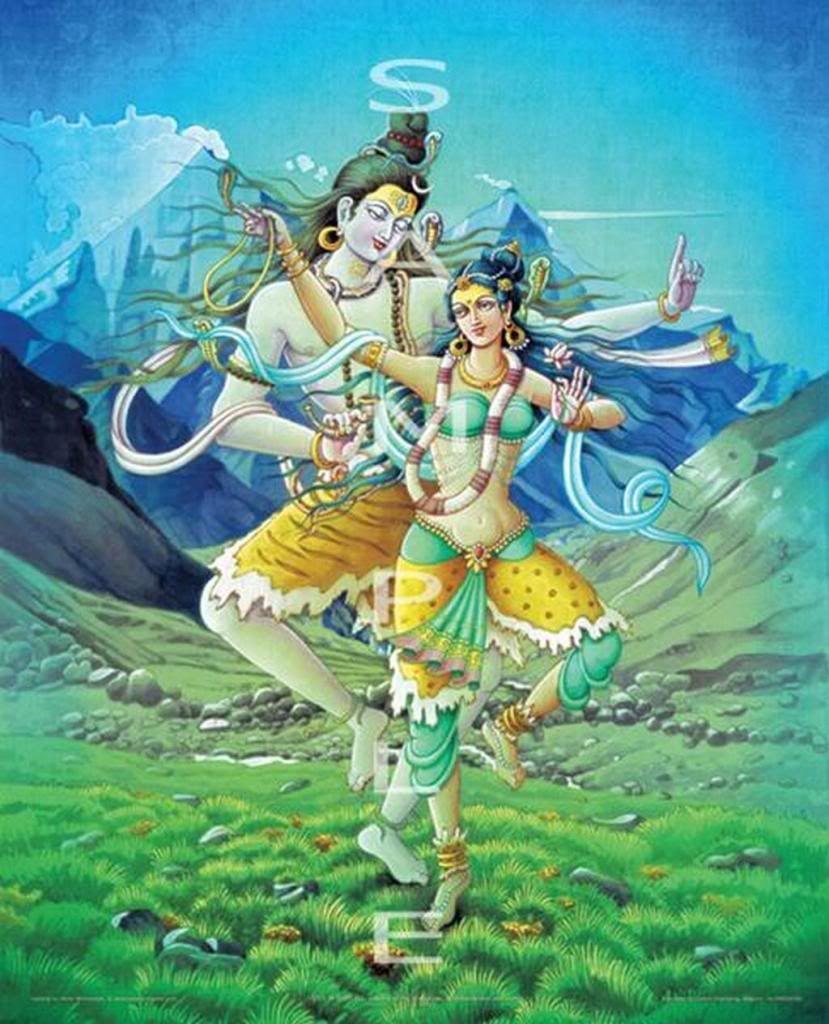 Resultado de imagem para shiva e parvati dance
