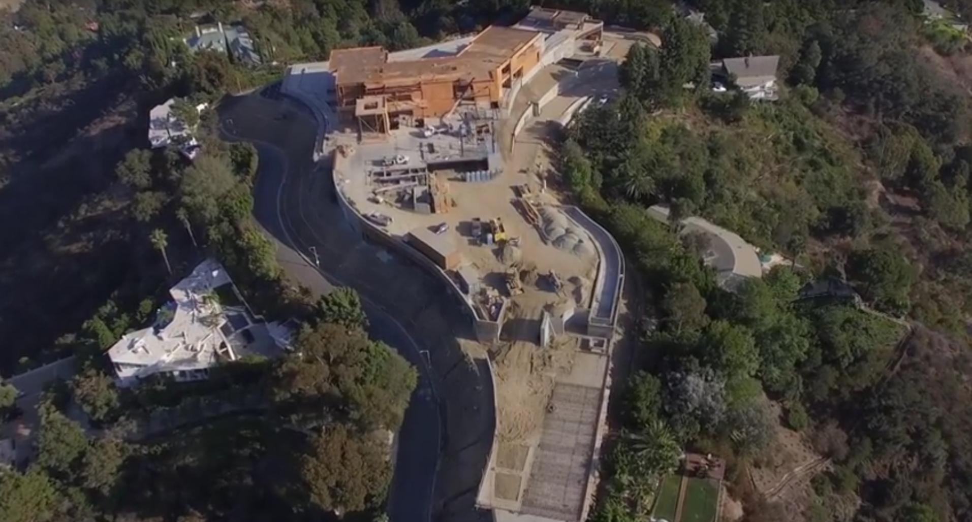 Teuerste villa der welt 12 milliarden  Luftaufnahmen der teuersten im Bau befindlichen Villa der Welt ...
