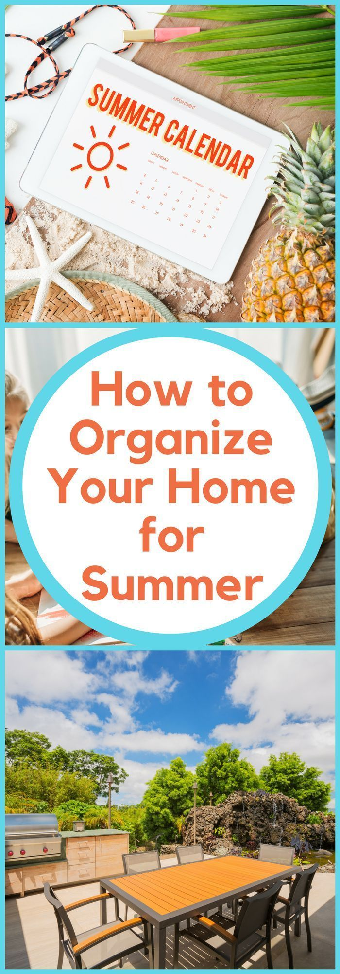 How to Organize Your Home for Summer #summerhomeorganization Organization--How to Organize Your Home for Summer--The Organized Mom #summerhomeorganization How to Organize Your Home for Summer #summerhomeorganization Organization--How to Organize Your Home for Summer--The Organized Mom #summerhomeorganization