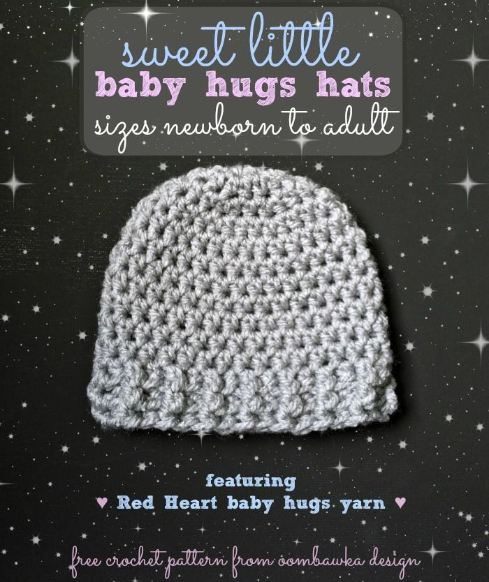 The Perfect Hat For Babies And Chemo Caps Free Crochet Hat