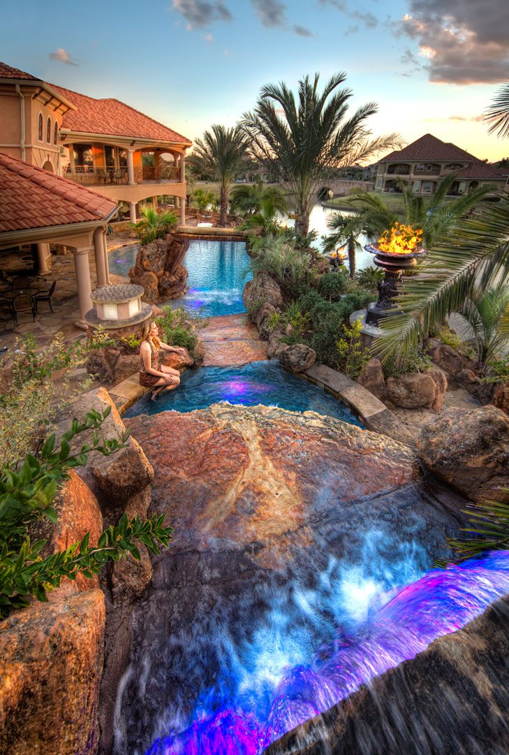 Pin By Ciara Taylor On Dream House Dream Pools Luxury Pools Swimming Pool Designs