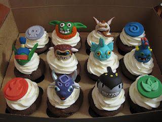Skylanders Cupcakes Skylanders Pinterest
