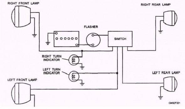 Car Lighting System Wiring Diagram