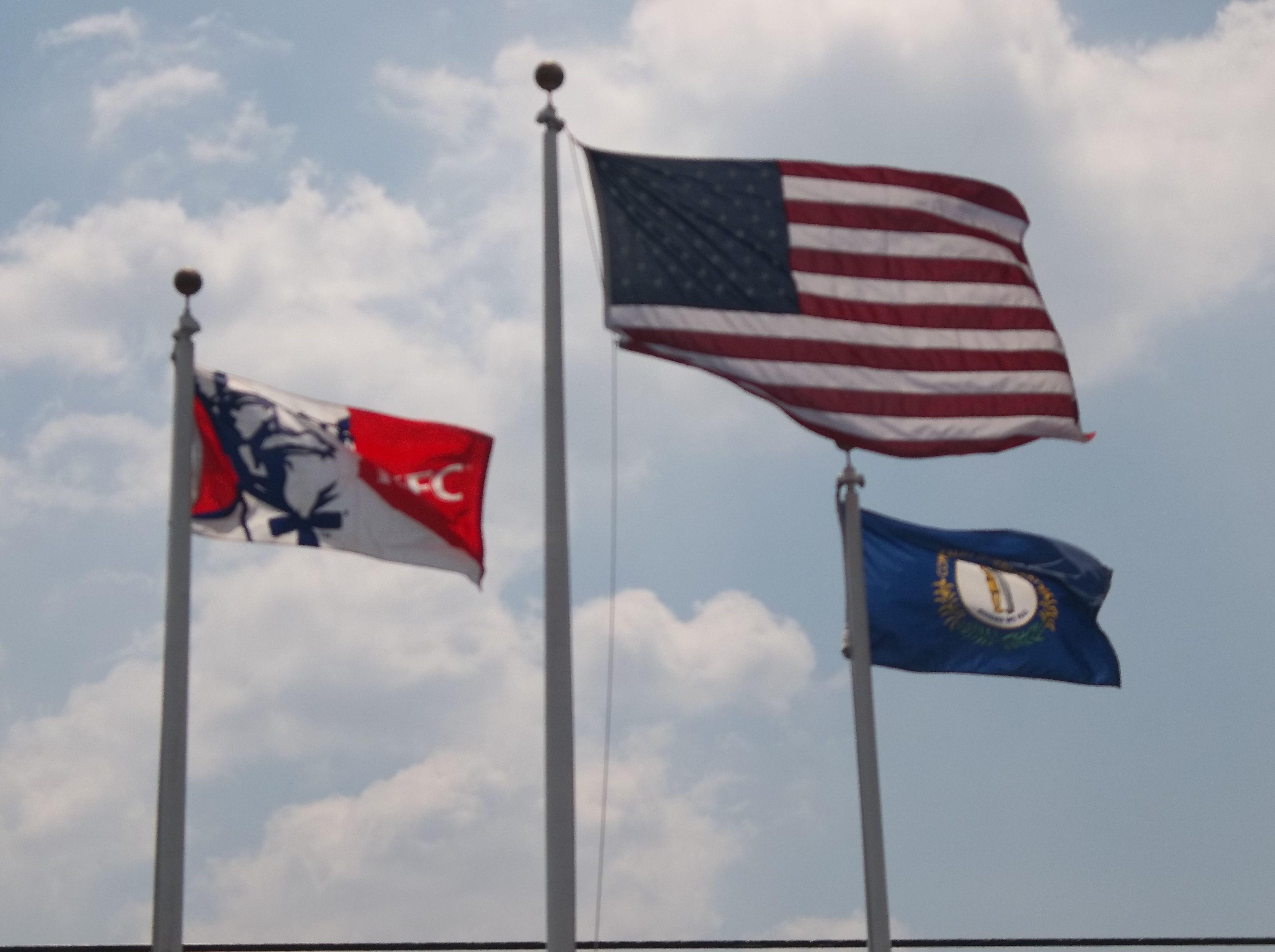Flags The Birthplace Of Kentucky Fried Chicken Museum In Corbin Kentucky Kentucky Fried Corbin Kentucky Fried Chicken
