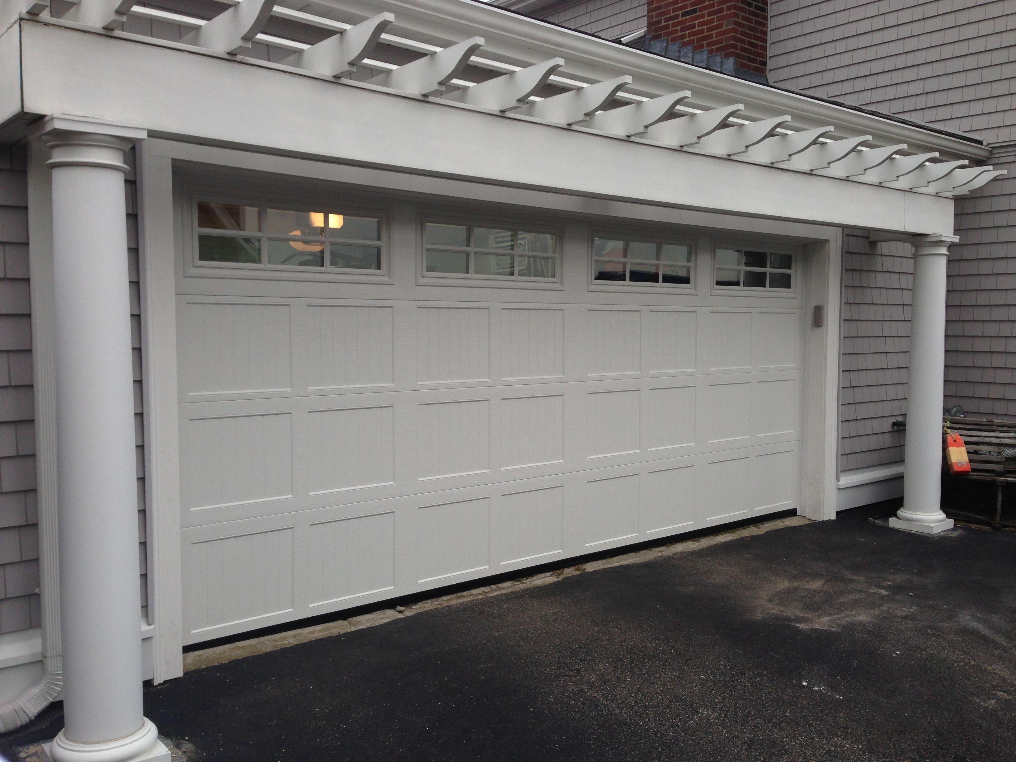Haas Model 2060 Steel Carriage House Style Garage Door In