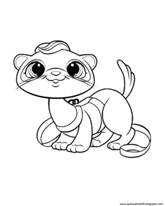 Quirky Artist Loft Littlest Pet Shop Free Printable Coloring Book Animal Coloring Pages Cool Coloring Pages Coloring Pages