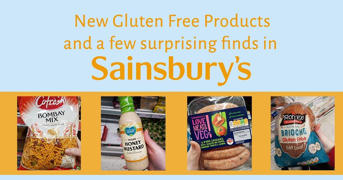 New gluten free products and a few surprising finds in