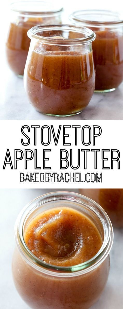 Easy homemade stovetop cinnamon apple butter recipe from