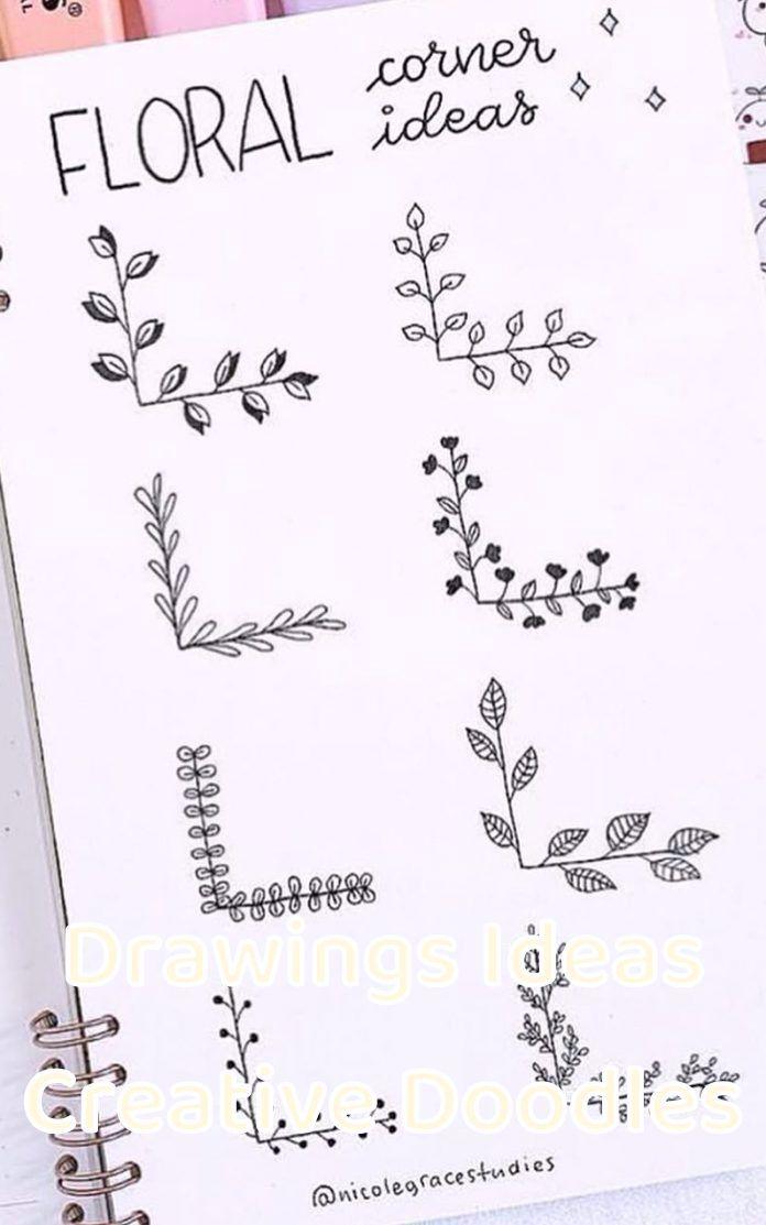 Drawings Ideas Creative Doodles