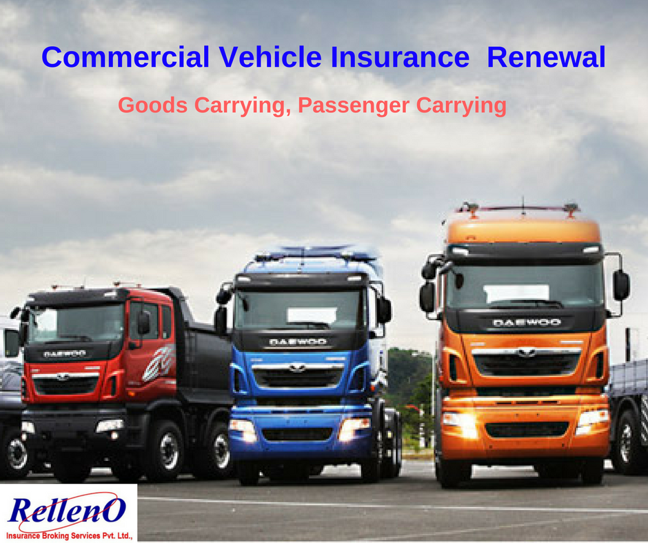 Commercial Vehicle Insurance Renewal Commercial Vehicle
