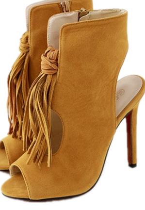c371ba946 Shoes Women s Sandals Summer Tassel Ladies Shoes high heels