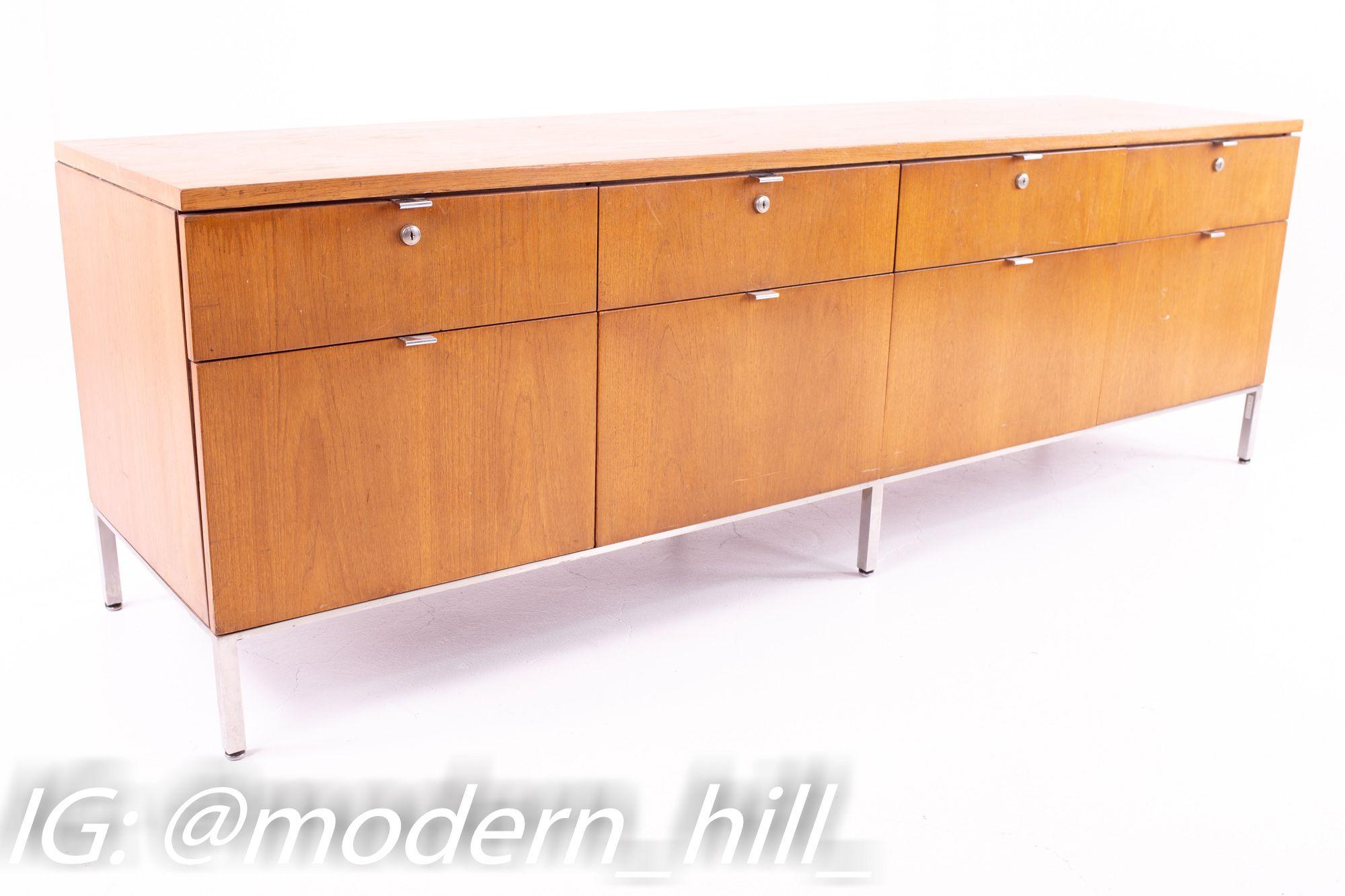 Mid Century Modern File Cabinet