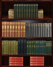 Premium Vintage Leather Sets - Books by the Foot