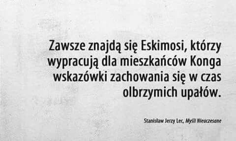 Myśli Nieuczesane Stanisław Jerzy Lec Myśli I Cytaty