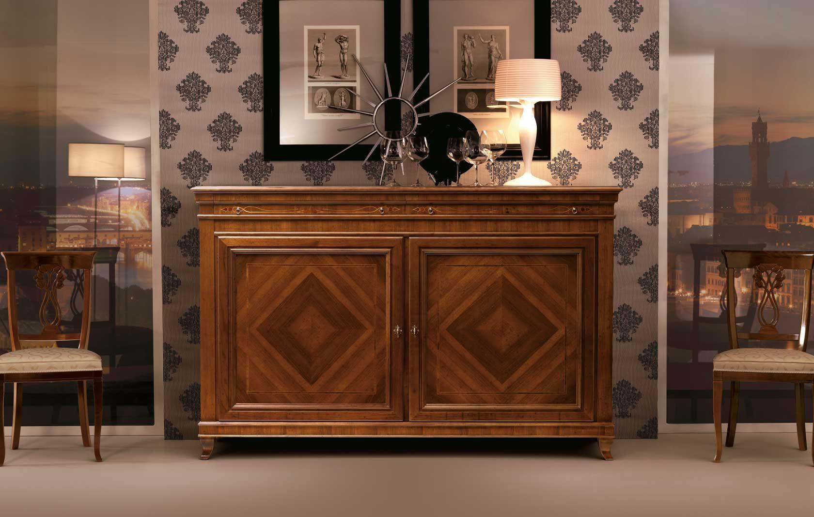 Credenza Camera Da Pranzo : Masson matiÉe arredamento classico camere da letto classiche como
