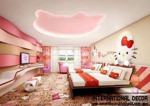 Hello Kitty Girls Bedroom Themes Designs Ideas Hello Kitty