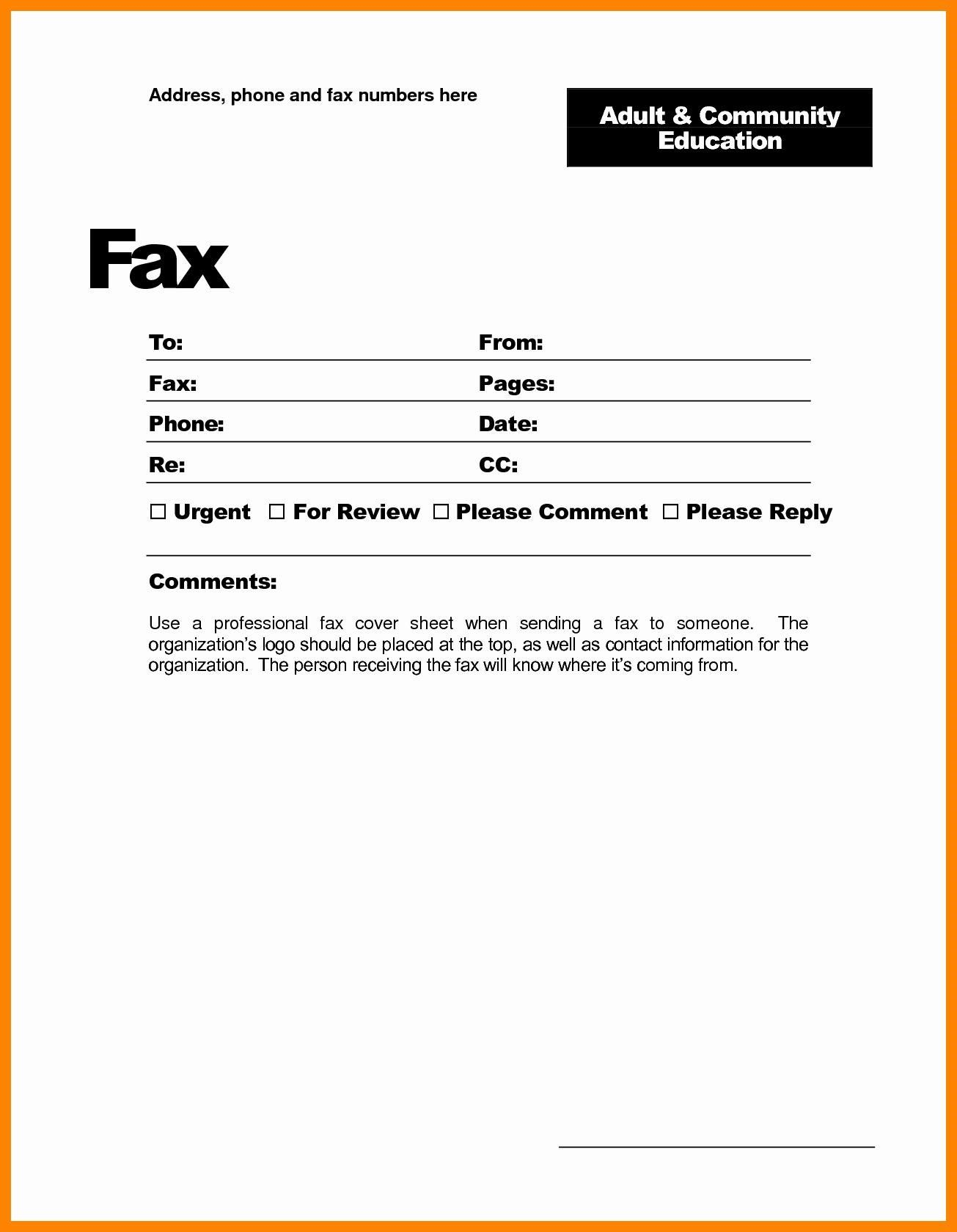 26 Fax Cover Letter Sample Free Printable Template 2536 Searchexecutive