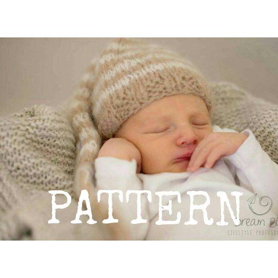 Newborn Baby Elf Knitting Pattern Baby Elf Hat Pattern Baby