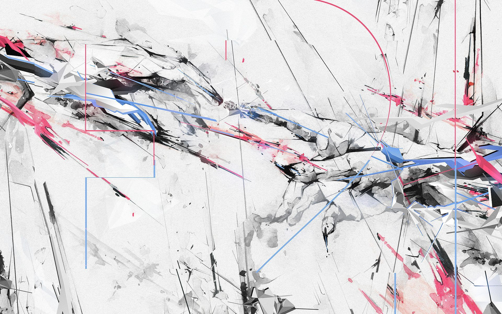 Image For Abstract Painting Black And White Hd Wallpapers Projects