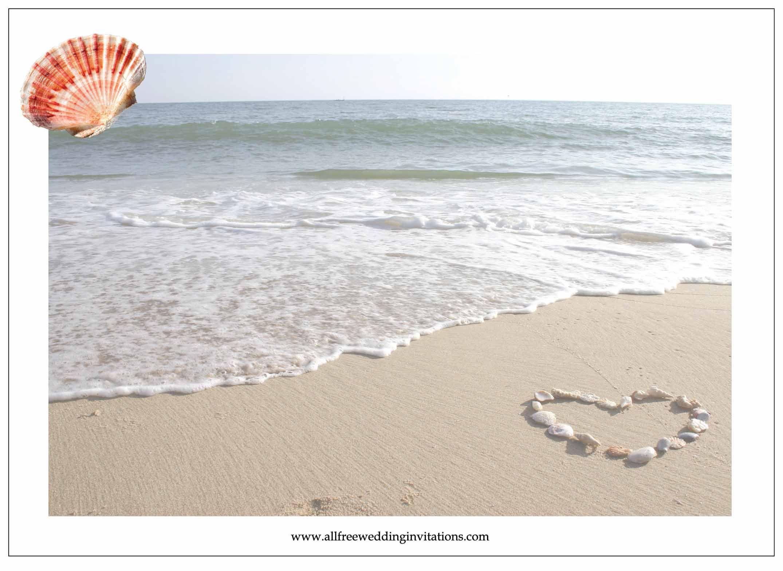 Beach Wedding Invitations Beach wedding invitations