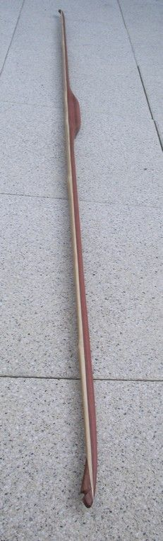 how to make a bamboo longbow