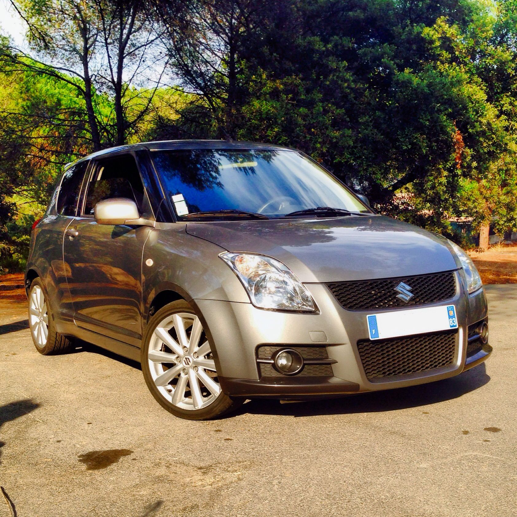 Suzuki swift sport 2013 pictures to pin on pinterest - My Suzuki Swift Sport Galactic Grey