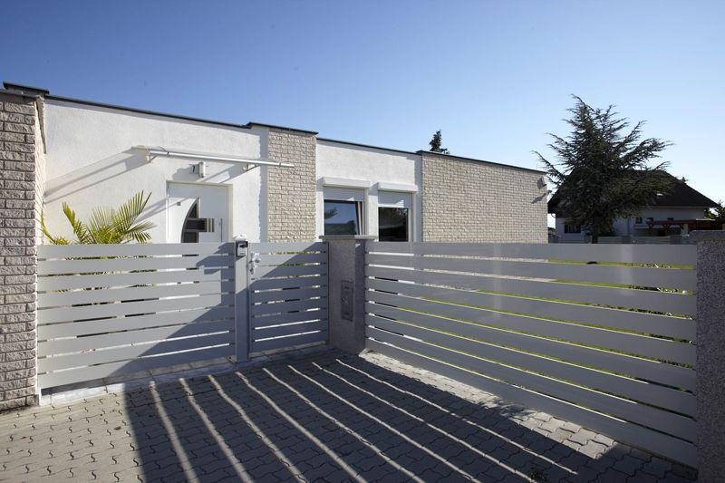 Alumínium kapu, kerítés, korlát gyártása Outdoor decor